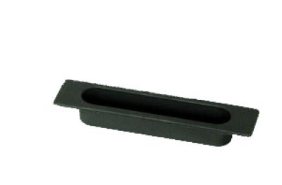 Der Fenstergriff Schiebe Medal Einbauwanne 4S Black Nylon