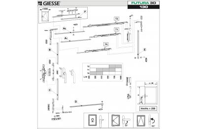 Anta Ribalta 3D Futura für Hammer Grundkonfiguration Giesse