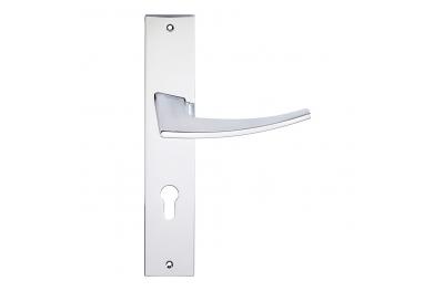 Antares Serie Mode Formen Griff Türschild von Frosio Bortolo Modernes Design