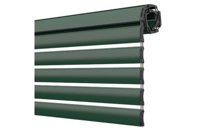 Double Space Pinto Rollladen Extrudiertes Aluminium Passen Sie das Licht an