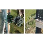 Barriere Anti Intrusion Komponente Grimpo Poller mit Tipps für Gesimse Balkone und Wände