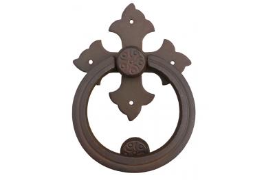 Fliegen-Kreuz mit Ring Galbraith Schmiedeeisen
