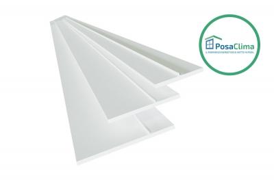 Stop für PVC-Fenster Gegenrahmen Teknica PosaClima