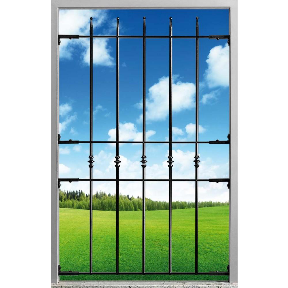 Blindy Inferriata Gitter Anti-Burst Filomuro Eisen Sheath Geschmiedete Fenster