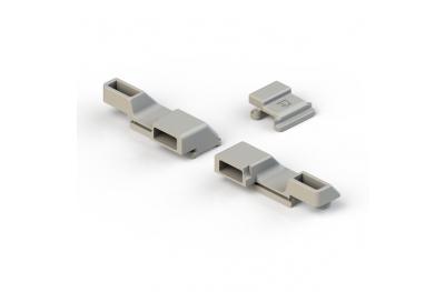 Paar Blocks Anschließen an Cremonese Giesse Profil hand EG-