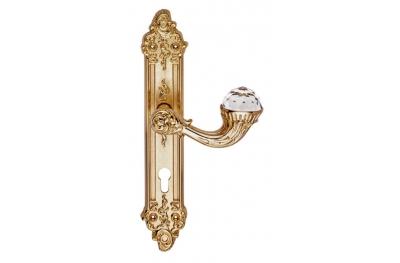 Brillant Crystal 1526 Türgriff auf Platte Linea Calì Vintage