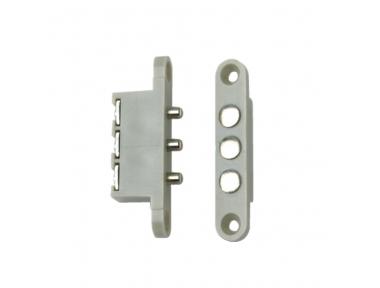 C3P Contacts Spannungsanschluss für Stromversorgung Elektroschloss mit 3 Kontakten CDVI
