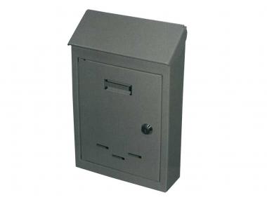 Mail Box mit bemalten Schließzylinder Eisengrau IBFM