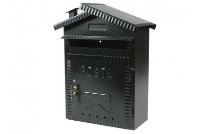 Mailbox Medien Schmiedeeisen Painted Black IBFM