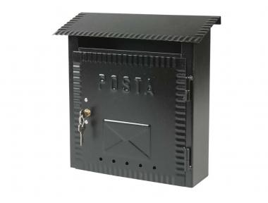 Mailbox Kleine Schmiedeeisen Painted Black IBFM