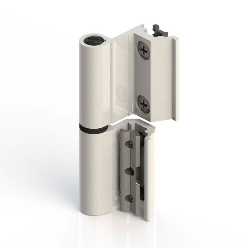 Flash-Scharnier Giesse Basis Euronut Aluminium