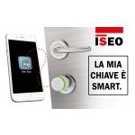 Libra Standard-Zylinder-Player und Knob Argo Iseo Eröffnung mit Smartphone App