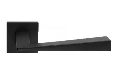 Konische Zincral Basic Line Cali Matt Black Paar Handgriffe am Rosetta