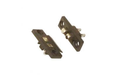 Electro Kontakt Frühlings-Zwei-Poly Messing 08650 Profil Opera Series