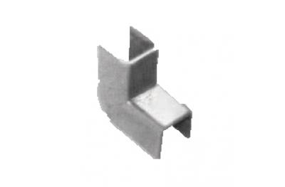 Abdeckplatten für Regolini Fermavetro Savio 12mm Breite verzinktem Stahl