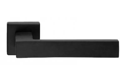 Corner Zincral Basic Line Cali Matt Black Paar Handgriffe am Rosetta