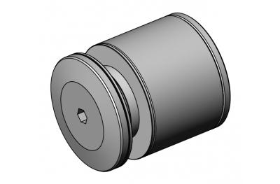 Abstandshalter für Geländer PHC-40 Inox Aisi 316 SpeedyByCasma