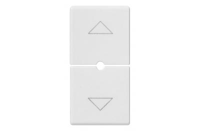 2-Halb-Tasten 1 Modul-Halbtasten Symbol Pfeil 14755 Plana Vimar