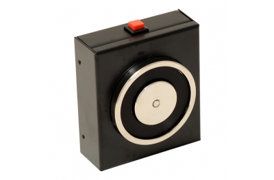 Quellen Schwarz Elektromagnet 140 kg mit Entriegelungsknopf 18101 Opera