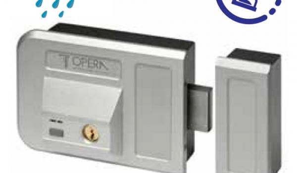 moderne elektrische schl sser f r tore und t ren der oper. Black Bedroom Furniture Sets. Home Design Ideas