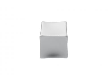 F514 Chromgriff für Möbel in Form eines Cubetto Designs Made in Italy von Formae