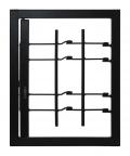 Grating Light 1 Tür mit gemeinsamen Sicherheitsklasse 3 Rahmen Standard-Leon Openings