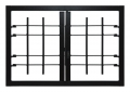 Grating Light 2 Ante Ohne Joint Security Klasse 3 Rahmen Standard-Leon Openings