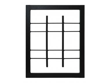 Gitterlicht Fix Security Klasse 3 Rahmen Standard-Leon Openings