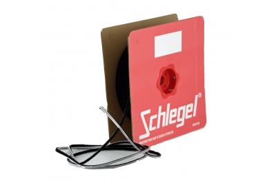 Bürstendichtung Schlegel Polybond 6,9x15mm Ohne Fin Schwarz Rolle 100m