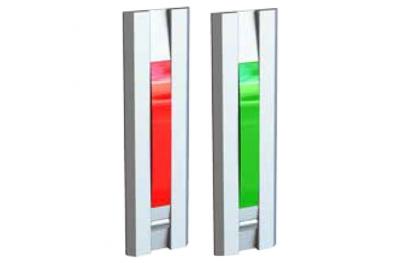 Licht mit roter Taste Grünen Türen für 55031 Series Profil Opera