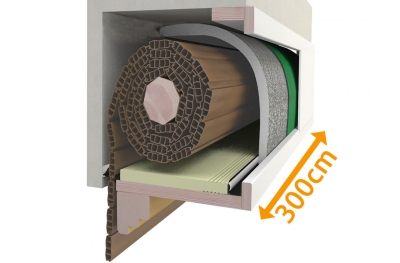Box Insulation Kit Rollläden 300 cm PosaClima Renova