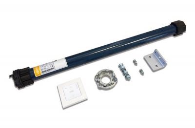 Somfy Motor Kit Fensterladen Kleines röhrenförmiges Funkgerät RTS MRR 1000 10 Nm