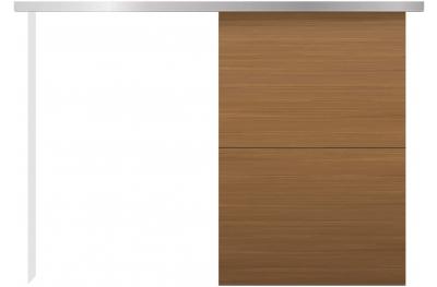 Außenwand Schiebetür Kit Minimal Silent Essential Design