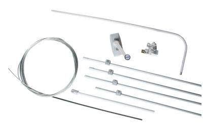 Komplettes Kit für Einzel-Vasistas Ultraflex UCS Öffnungsmechanismus für Fenster