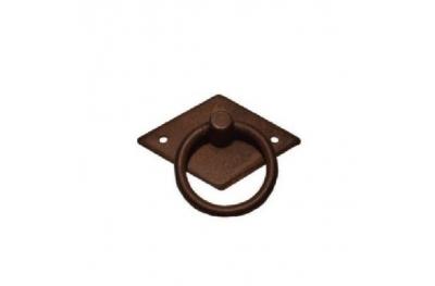 Möbelgriff 028 Galbusera in Schmiedeeisen Kunst mit Ring