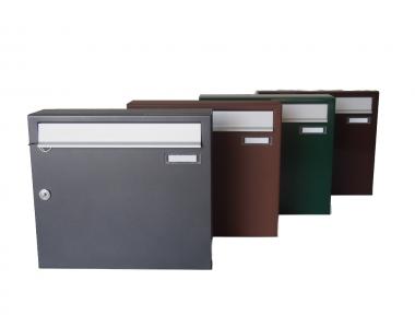 Master Zwick Single Briefkasten im Freien Verschiedene Farben