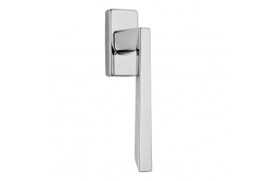 Mercury Serie Mode Formen Griff Hammer DK Fenster Frosio Bortolo Chrome