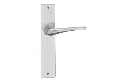 Minerva-Reihen arbeiten Formen Griff Türschild von Frosio Bortolo Contemporary Design