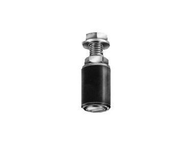 Zylindrischen Öl Nylon Savio für Schiebetore Stahl verzinkt