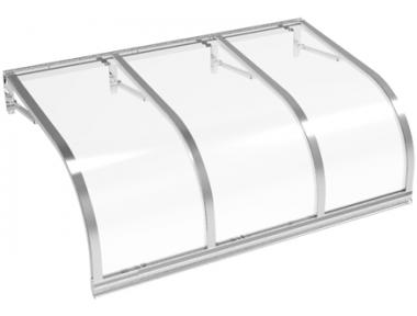 Cassiopeia Schlupf Aluminium Transparent Aluminium AMA Sonnenschutz