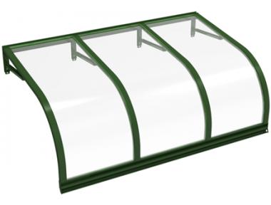 Shelter Cassiopeia Green Transparent Aluminium AMA Sonnenschutz
