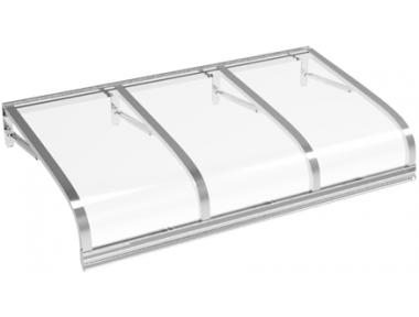 Shelter Euriga Transparent Aluminium Aluminium AMA Sonnenschutz