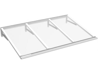Shelter Lira Weiß Transparent Aluminium AMA Sonnenschutz