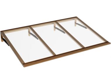 Shelter Lira Copper Transparent Aluminium AMA Sonnenschutz