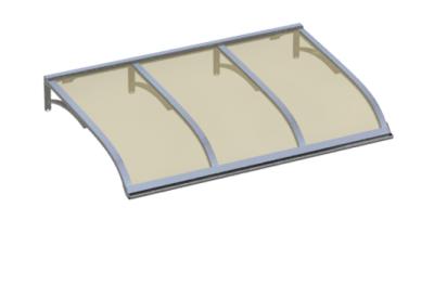 Shelter Vela Aluminium Bronze Aluminium AMA Sonnenschutz