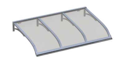 Shelter Vela Aluminium grau Aluminium AMA Sonnenschutz