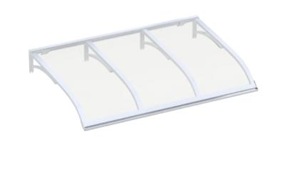 Shelter Vela Weiß Transparent Aluminium AMA Sonnenschutz