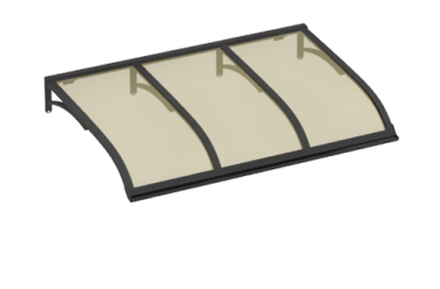 Shelter Segeln Grau Bronze Aluminium AMA Sonnenschutz