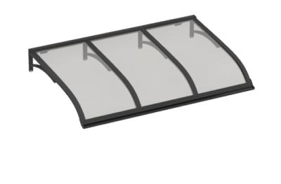 Shelter Segeln Grau Grau Aluminium AMA Sonnenschutz