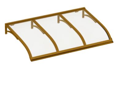 Segeln Schlupf Copper Transparent Aluminium AMA Sonnenschutz